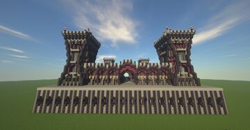Server Hub - Nether hub - Free to use in your server Minecraft Map & Project
