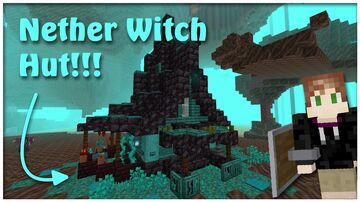 Nether Witch Hut! Minecraft Map & Project