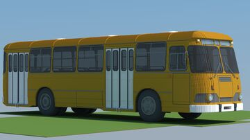 Soviet bus LiAZ-677 Minecraft Map & Project