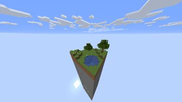 The original 1 chunk sky block in 1.16.1 Minecraft Map & Project