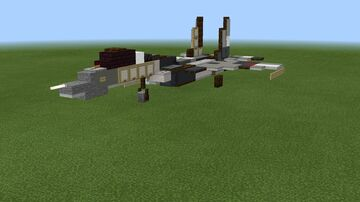 1:1 scale Su-35S Flanker-E Minecraft Map & Project