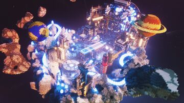 Sci-Fi Experiment Hub Minecraft Map & Project