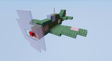 Curtiss P-40 Warhawk Minecraft Map & Project