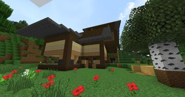 Osh's Survival House Minecraft Map & Project