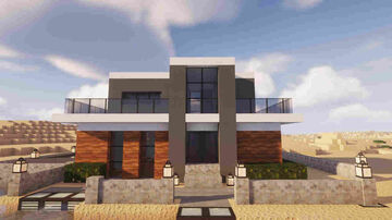 Modern House - Edytion Dubai Minecraft Map & Project