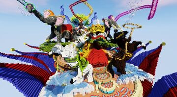 Lobby Carnaval Minecraft Map & Project