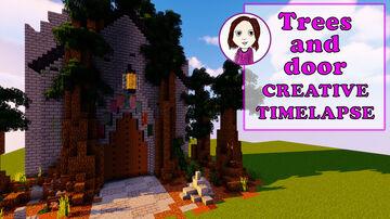 Fantasy tree entrance | Minecraft creative time-lapse build Minecraft Blog