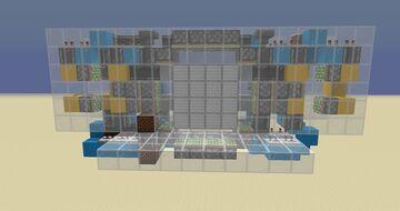 4x4 Spiral Piston Door Minecraft Map & Project