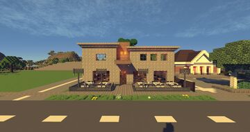 A Fancy Restaurant Minecraft Map & Project