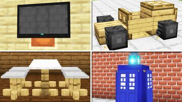 7 Secret build hacks you can do in Minecraft (BEDROCK EDITION ONLY!) Minecraft Map & Project