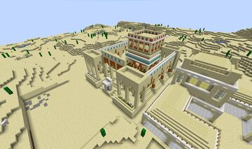 Age of Empires II - Near East University Minecraft Map & Project