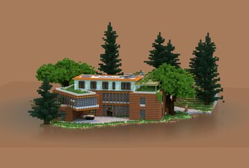 Modern Villa | redesigned | Krysot Minecraft Map & Project