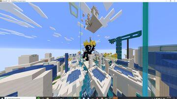 HYPERRUSH - Futuristic PVP  [BETA] Minecraft Map & Project