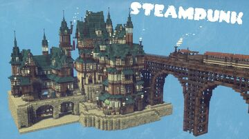 Steam Punk Minecraft Map & Project