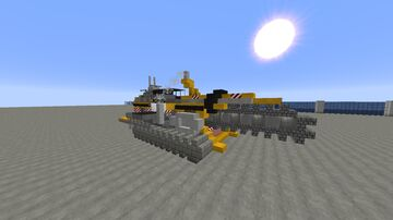 GVC IT-6655k Cherokee Quarry Trenching Machine Minecraft Map & Project