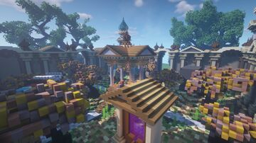 ⇒Spawn Nature 150x150+warzone included [DOWNLOAD]⇐ Minecraft Map & Project