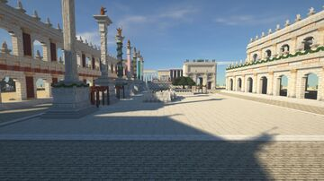 THE ROMAN FORUM Minecraft Map & Project