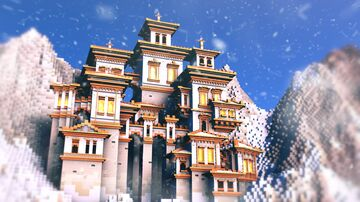 Creamsicle Castle Minecraft Map & Project