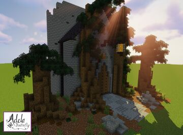 Fantasy Trees Entrance Minecraft Map & Project