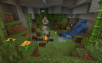 Enhanced Survival Minecraft Map & Project