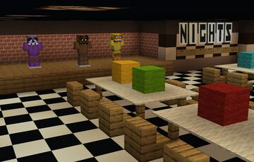 Five Nights at Freddy's - full game remake Minecraft Map & Project