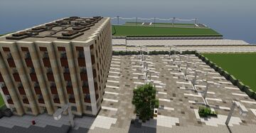 Greenfield, 1970's office building. Minecraft Map & Project