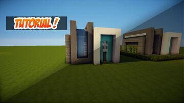 HOW TO BUILD A 10X10 MODERN HOUSE   CONSTRUCTION TUTORIAL Minecraft Blog