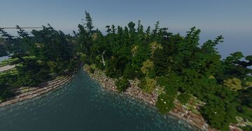 Forest of the Rock river, Saineterre Minecraft Map & Project
