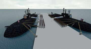 Kursk Submarine Minecraft Map & Project