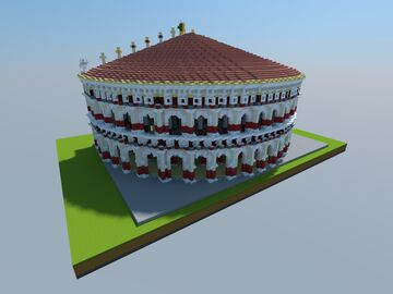 Roman Odeon Minecraft Map & Project