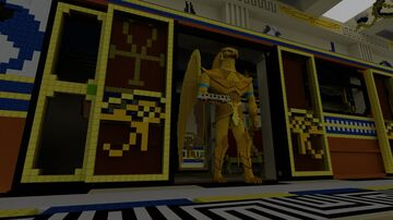 Egyptian Dawn Station Minecraft Map & Project