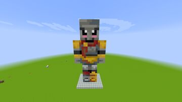 Arcaniax Iron Golem Statue Minecraft Map & Project