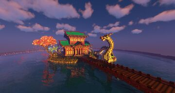 Dragon's Temple Minecraft Map & Project