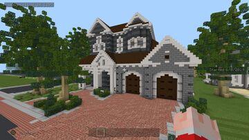Minecraft Pro Suburban house Minecraft Map & Project