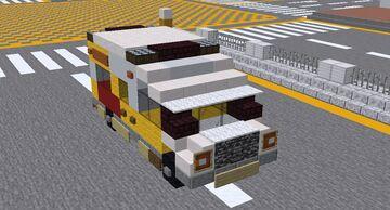 Minecraft Hong Kong Ambulance 香港救護車 Minecraft Map & Project