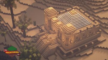 Desert Temple Redesign [Tutorial and World Download] Minecraft Map & Project