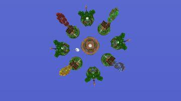 Up Cakewar Minecraft Map & Project