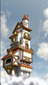 Cloudwatcher - Fantasy Tower Minecraft Map & Project