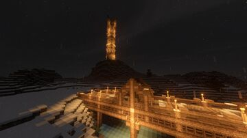 Fjord Tower | (VIKINGS + Little Bridge) Middle Ages | 6 July 2020 Minecraft Map & Project