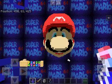 Super Mario 64 Minecraft Map & Project