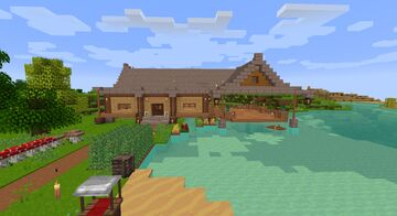 Fisher Hanok Minecraft Map & Project