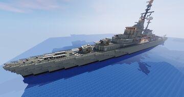 HNLMS De Zeven Provinciën Cruiser C802 Minecraft Map & Project