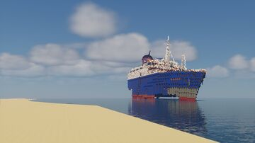 Ss American Star wreck 2004 Minecraft Map & Project