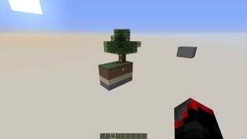A New Try Sky Block Minecraft Map & Project