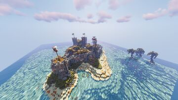 Corsair Castle Minecraft Map & Project