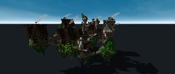 Steampunk island | Schematic Minecraft Map & Project