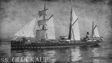 SS GLÜCKAUF (1886) [FULL INTERIOR] Minecraft Map & Project