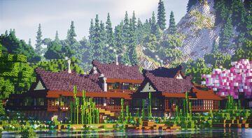 静かな村 - Shizukana Mura Minecraft Map & Project