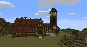 TM Tavern Inn Supply Depot Minecraft Map & Project
