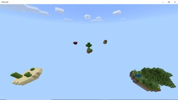 No-Mod SkyBlock (With Economy) [MCPE] Minecraft Map & Project
